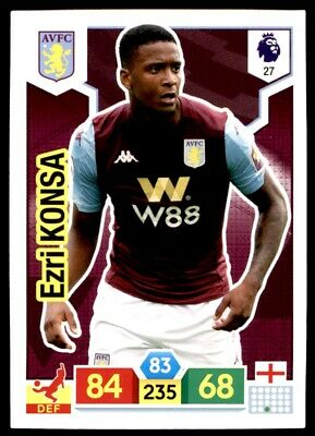 Panini Premier League Adrenalyn XL 2019/20 - Ezri Konsa Aston Villa No. 27