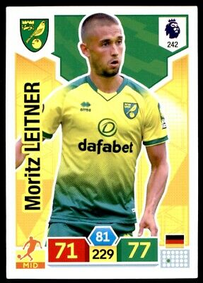 Panini Premier League Adrenalyn XL 2019/20 - Moritz Leitner Norwich City No. 242