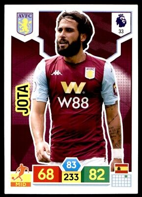Panini Premier League Adrenalyn XL 2019/20 - Jota Aston Villa No. 33