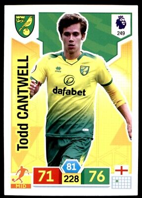 Panini Premier League Adrenalyn XL 2019/20 - Todd Cantwell Norwich City No. 249