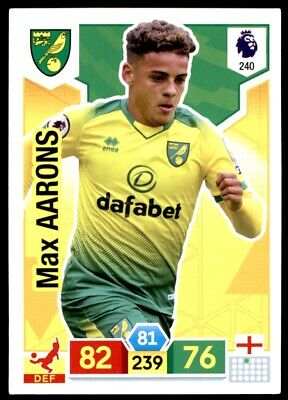 Panini Premier League Adrenalyn XL 2019/20 - Max Aarons Norwich City No. 240