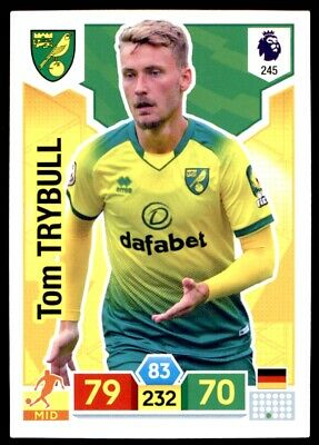 Panini Premier League Adrenalyn XL 2019/20 - Tom Trybull Norwich City No. 245