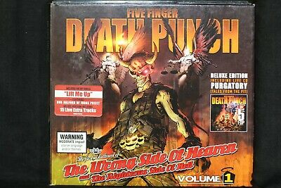 Five Finger Death Punch The Wrong Side Of Heaven And The Righteous Side.. (C811)