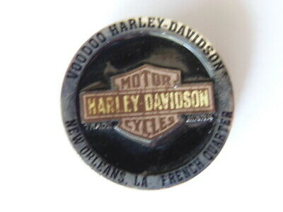 Harley Davidson Pins Badge Collector New Orleans La French Quater Voodoo