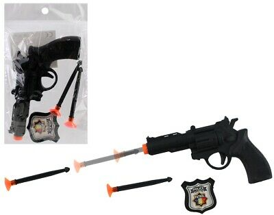 kids toy  gun with orange shooters for shooting stocking filler party