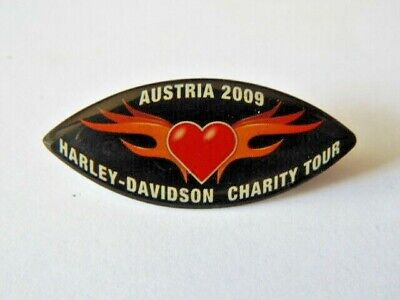 Harley Davidson Pins Hd Badge Collector Austria 2009 Charity Tour