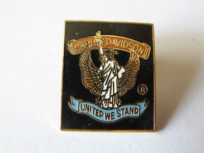 "Harley Davidson Pins Hd Badge Collector ""United We Stand"""