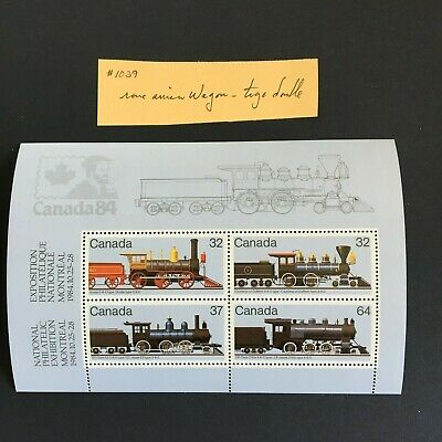 Canadian Locomotives #1039a variety double-arm brake MNH
