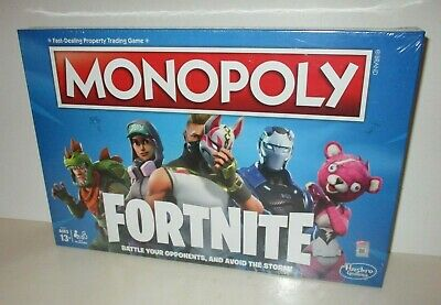 Fortnite Monopoly Edition Board Game Sealed Hasbro 2018