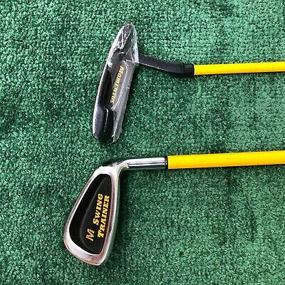 Momentus Swing Trainer 40 ounce IRON & Weighted PUTTER ~ Right RH ~ Pre-Owned!