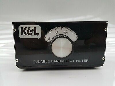 Band Reject Filter Tunable, K&L Microwave 3TNF-200-400 SMA(f)