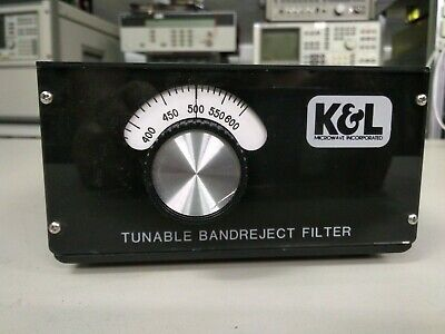 Band Reject Filter Tunable, K&L Microwave 3TNF-300-600 SMA(f)