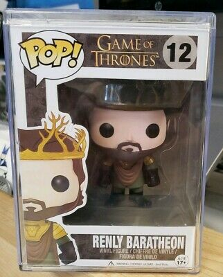 Game of Thrones Renly Baratheon #12 Funko Pop! Vaulted! Hard Protector