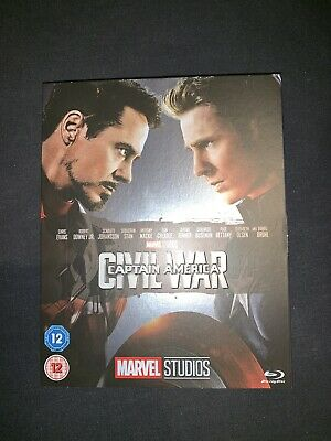 Captain America Civil War - Blu Ray With Collectible Sleeve (Slipcover) - Marvel