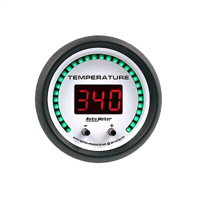 AutoMeter 6754-PH Phantom Elite Digital Two Channel Fluid Temp Gauge