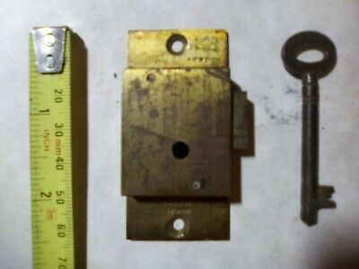 cupboard lock, London, 64 mm, antique (CU1)