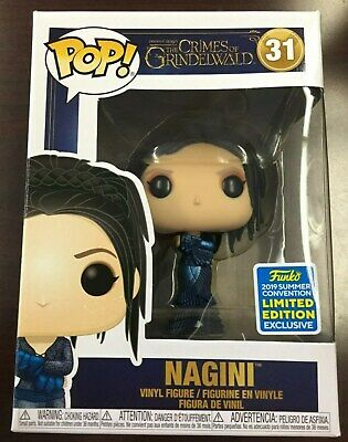 Funko Pop Nagini Human #31 Crimes of Grindelwald SDCC Exclusive w/Protector NEW