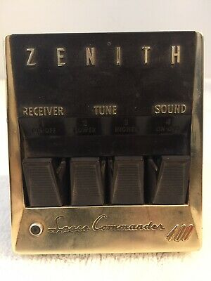 Vintage ZENITH Space Commander 400 TV television remote clicker 1950's