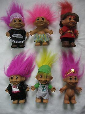 Russ troll french maid 6 inch lot of 4 new in bag