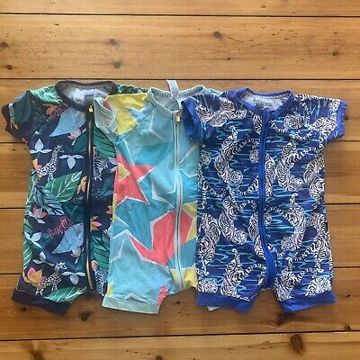 Bonds Boys Rompers Pjs Size 3 Great Condition