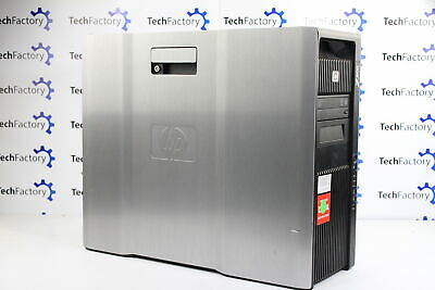HP Z800 Workstation Desktop 2x Intel Xeon X5650 48GB RAM 256GB SSD 3 x 1TB HDD