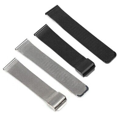 Fashion Milanese Loop Magnetic Wrist Watch Band Replacement For 18mm 20mm 22mm