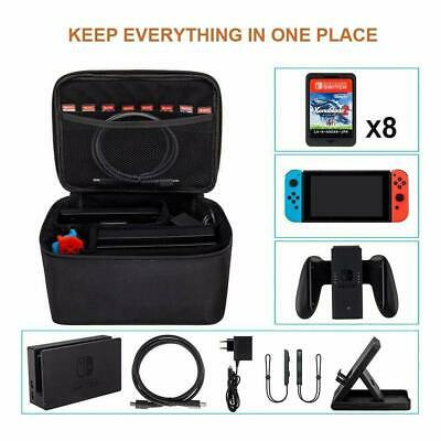 Travel Carrying Storage Case Bag For Nintendo Switch NS System All Accessories