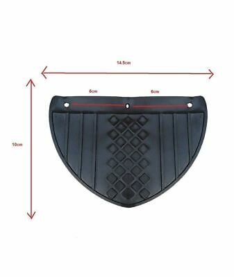 Enfield County Front Small Mudguard Mudflap Motorcycle Scooter Moped Universal Fit 113 X 145mm