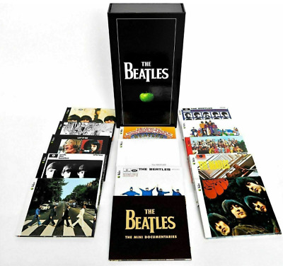 THE BEATLES: Stereo Box Set Original Studio Record [New CD, 2009,17-disc] Sealed