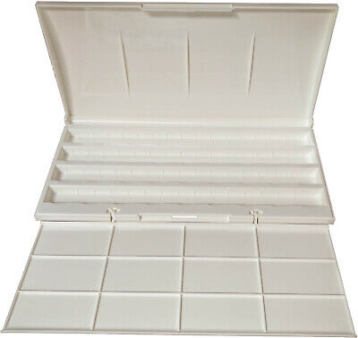 White Nights Artists' Watercolour Empty Plastic Box, for up to 36 pans