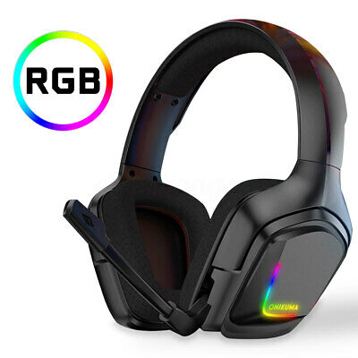 Gaming Headset PC Gamer Stereo Headphones with Mic/Led For PC Laptop PS4 Xbox