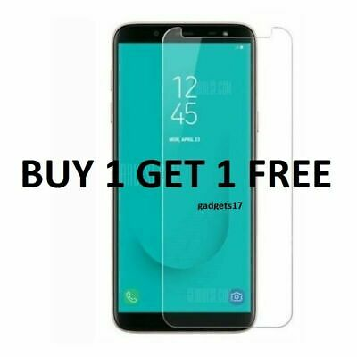 For Samsung Galaxy J6 2018 Full Curved 6D Tempered Glass Screen Protector