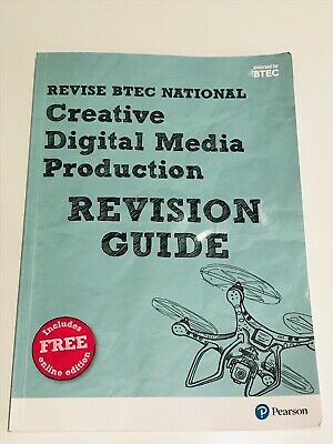 Btec National Creative Digital Media Production Revision Guide Incl Online Edit