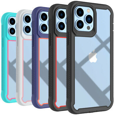 For iPhone 11 Pro Max 2019 Case Hybrid Heavy Duty Shockproof Clear Back Cover
