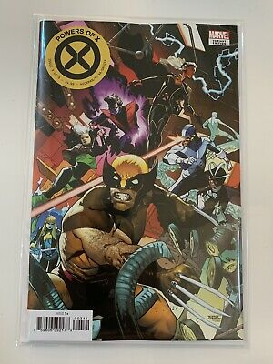 POWERS OF X #3 OF 6 VARIANT ASRAR CONNECTING COVER MARVEL COMIC 1st Print NM