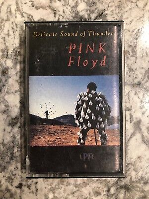 Delicate Sound of Thunder by Pink Floyd (Cassette, Nov-1988, Columbia)