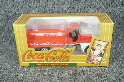 ERTL Die-Cast Coca-Cola Dispenser Truck Coin Bank