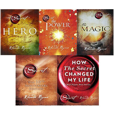 The Secret Series 5 Books Collection Set By Rhonda Byrne ,The Secret ,The Power