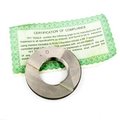 Ring Pipe Thread Gages 1-1/4-11-1/2 NPT Class L1