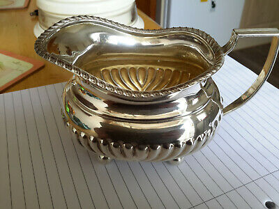 Solid Silver Cream / Milk Jug..chester Hallmark