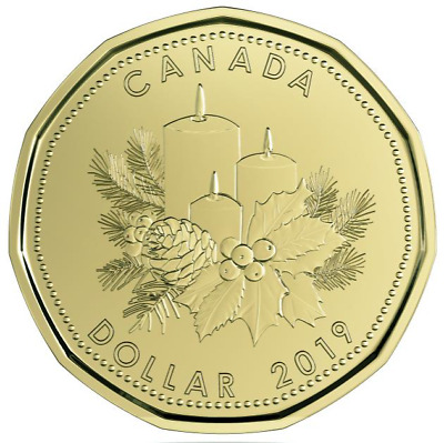 2019 Canada Holiday gift set (5 coins) with special loon dollar coin - sealed