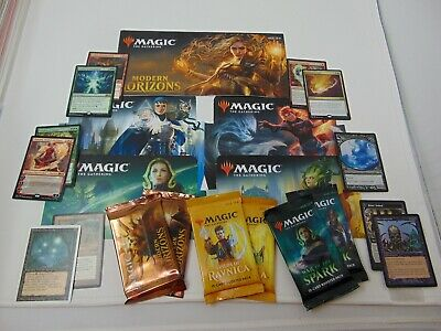 Magic the Gathering Random Booster Pack Lot x10 + Bonus MTG WOTC