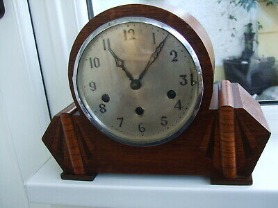 Fully working Nicely designed Mantle clock with Westminster quarterly Chimes