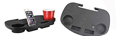 Camping Chair Side Table - Clip On Drinks /phone Holder Tray - Pack Of Two