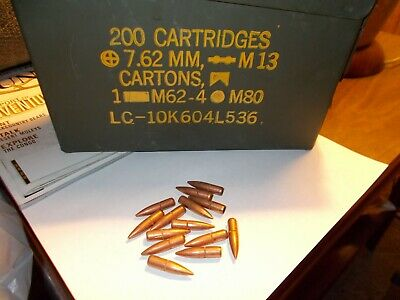 Military .30 cal. Tracer bullets for collectors  30.06/.308