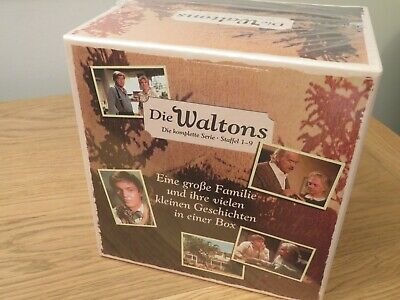 The Waltons Complete Collection - DVD boxset - Seasons 1 - 9. 58 Discs. NEW