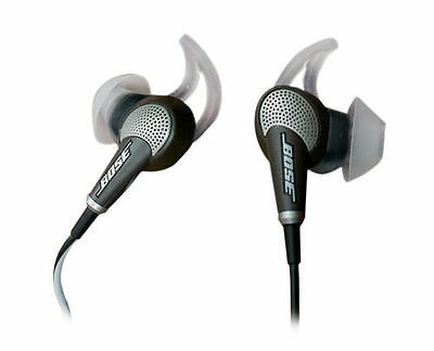 Bose QC20 QuietComfort 20 Noise-Canceling In-Ear Headphones for Apple (Black)