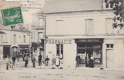 Cpa1 Vienne Trois Moutiers Pharmacie