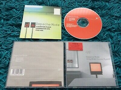 Depeche Mode - Only When I Lose Myself 3 Track CD Single 1998 David Gahan Remix