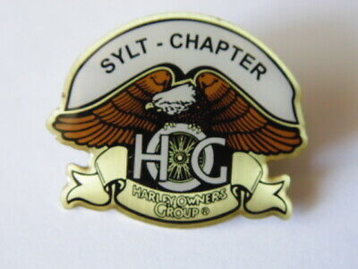 Harley-Davidson Pins Badge Collector  Hog Sylt Chapter